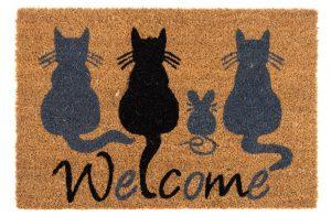 Welcome Cat Mat