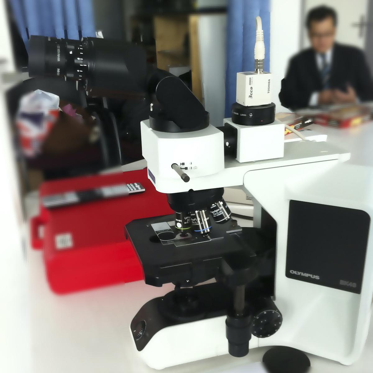 Canon IK-HD3H on Microscope