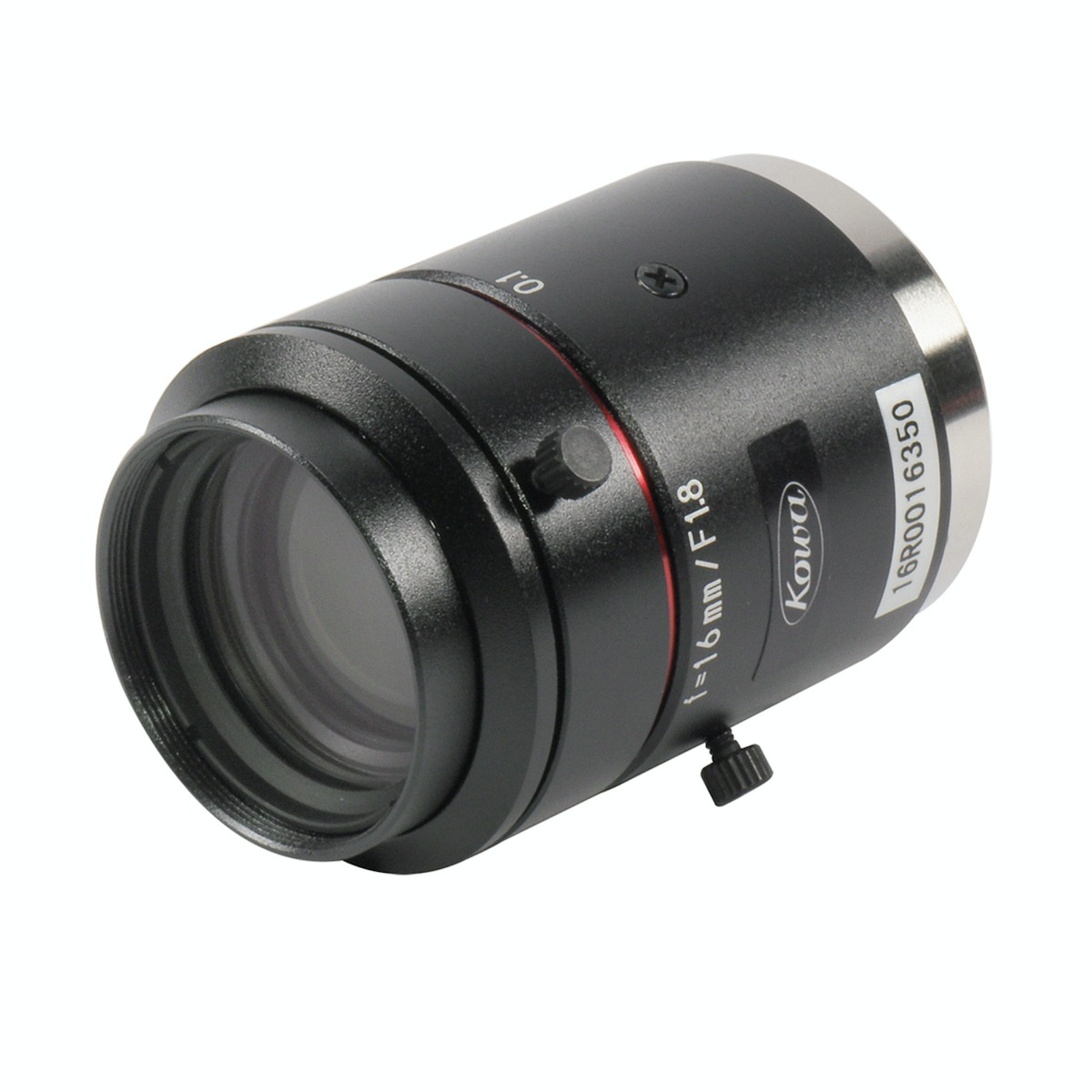 Kowa LM16JC10M lens 3/4 view