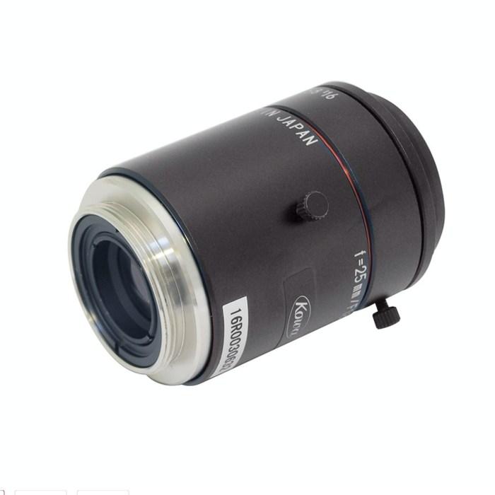 Kowa LM25JC10M lens rear 3/4 view