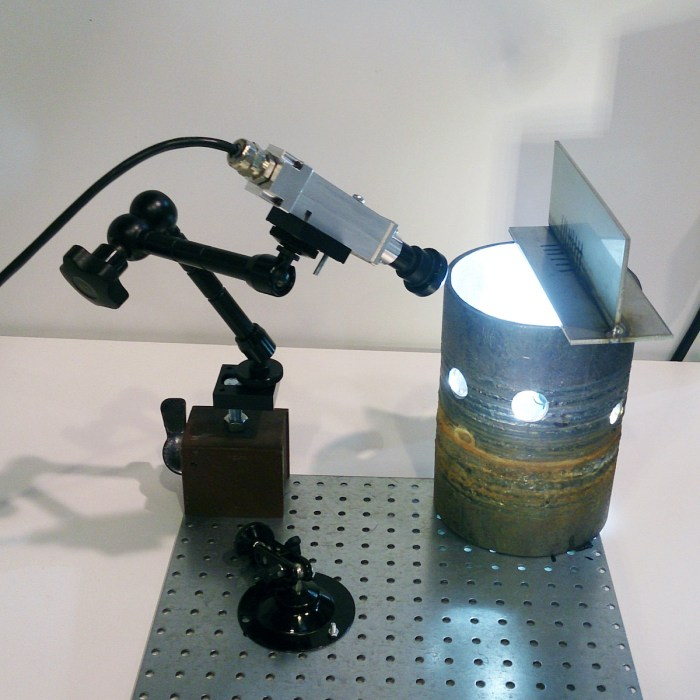 WVS-50 / WVS-51 camera test