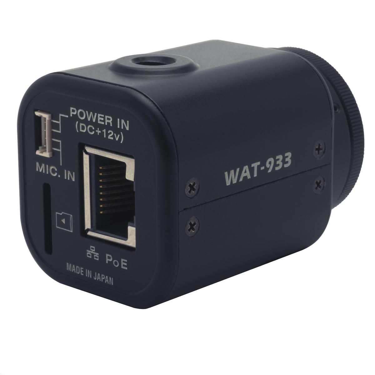 Watec WAT-933 camera rear view