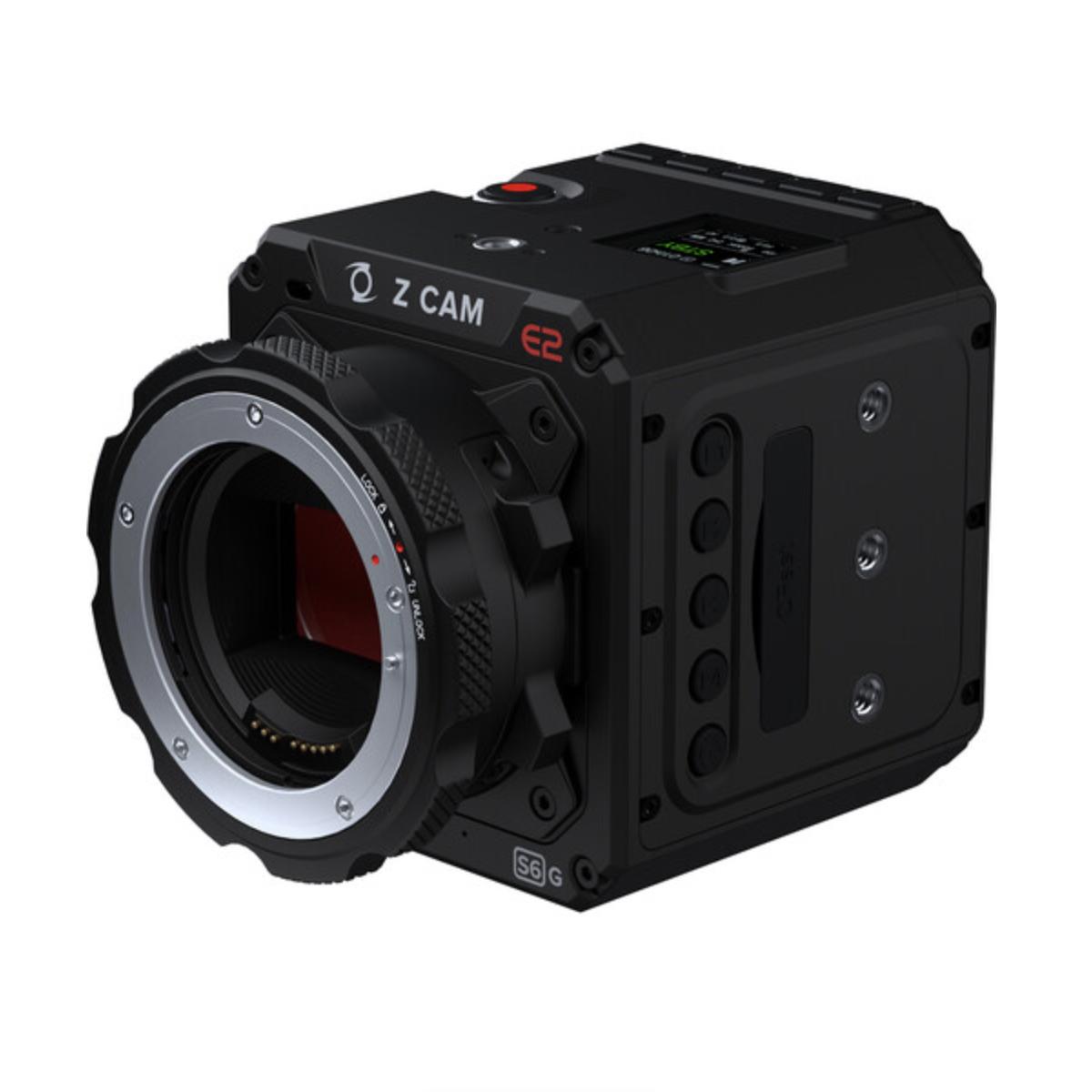 ZCAM E2 S6G Camera 3/4 view