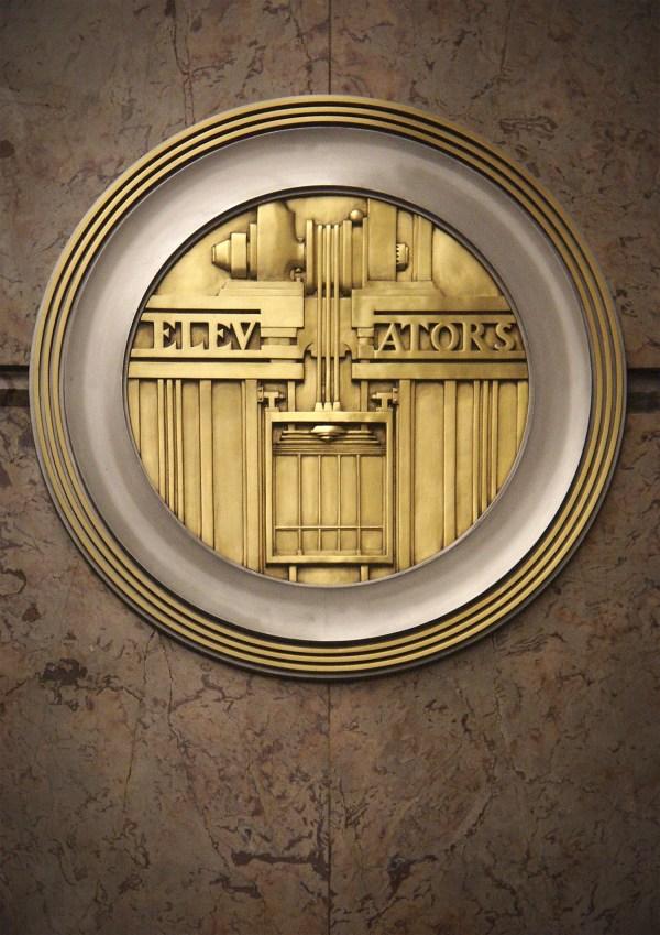 Beautiful Art Deco Elevators - Sees
