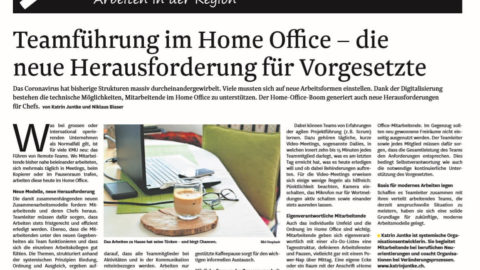 Home-Office Teambuilding