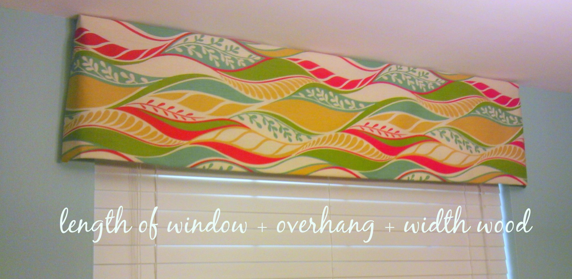 Wood Work Wooden Valance Plans Plans