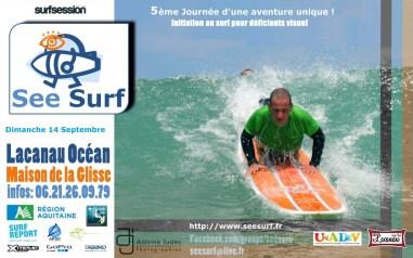 Affiche See Surf - Lacanau Surf Club - 14 Septembre 2014