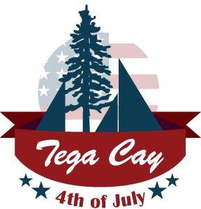 tega cay 4th of July logo