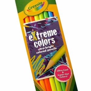 eXtreme colors pencils