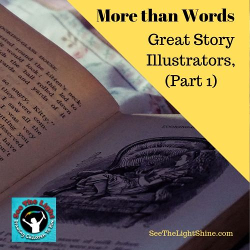 More than Words: Illustrating Great Stories, Part 1. See the Light Art