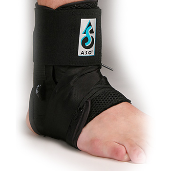 ASO Ankle Brace  Black  See The Trainer