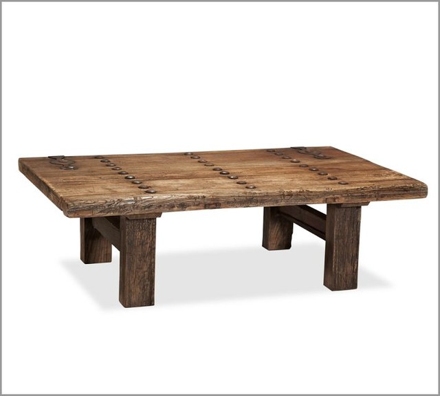 Wooden Coffee Table with Wonderful Design