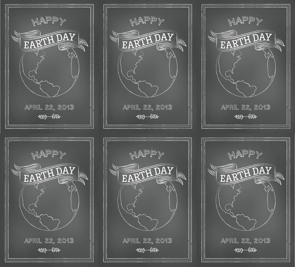 Printables Free Earth Day Tags