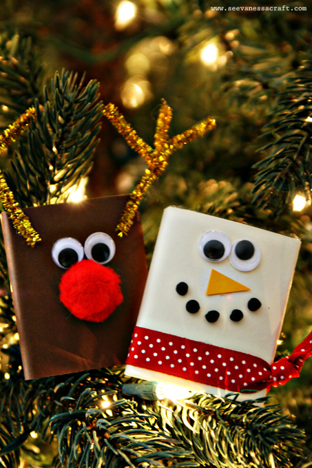 20 Crafty Days Of Christmas Extra Gum Reindeer And