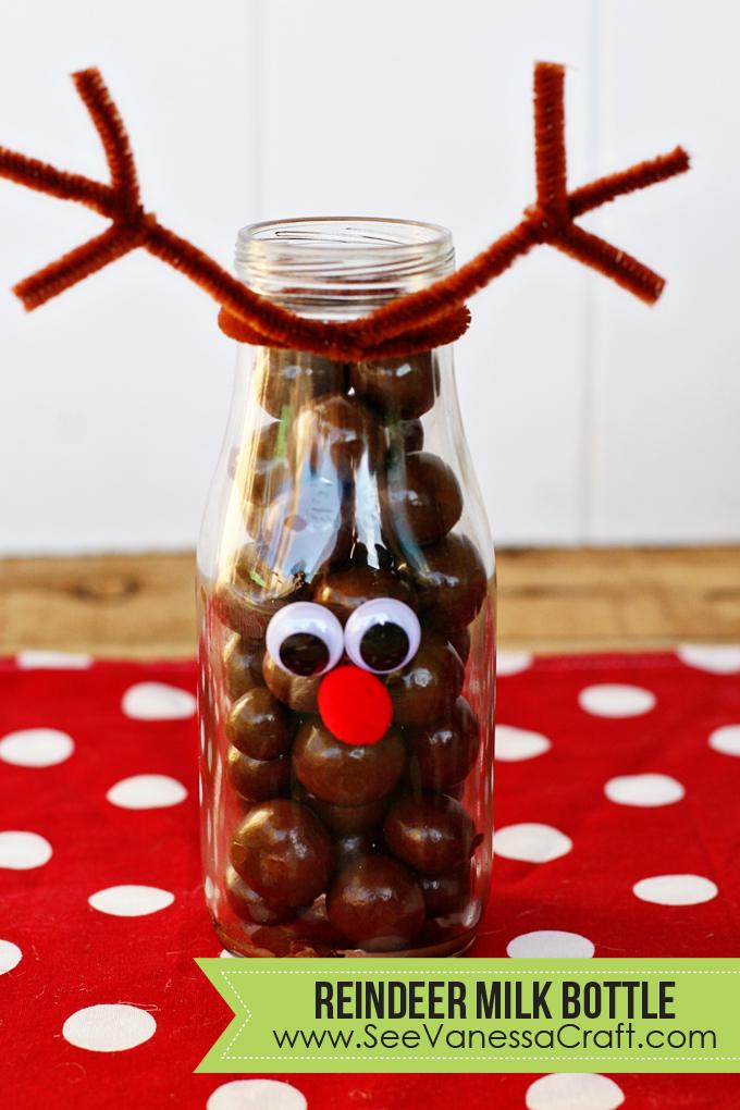 Reindeer Milk Bottle