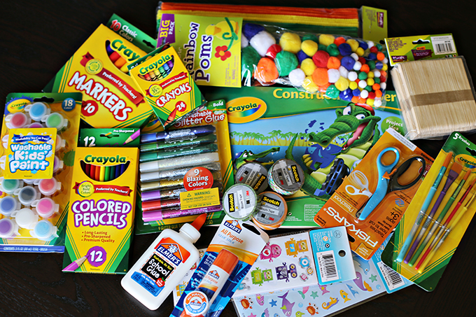 Kid Friendly Art Station For Kids  See Vanessa Craft