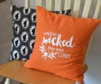 Halloween: Wicked Envelope Pillow - See Vanessa Craft