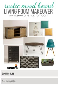 DIY: Rustic Living Room Makeover Mood Board - See Vanessa ...