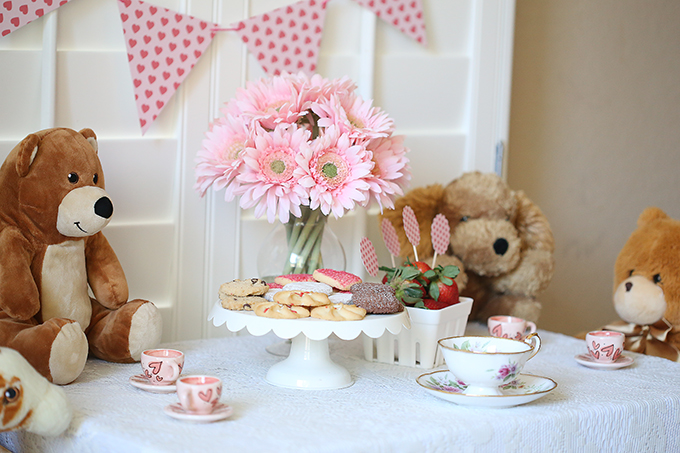 Valentines Day Teddy Bear Tea Party See Vanessa Craft