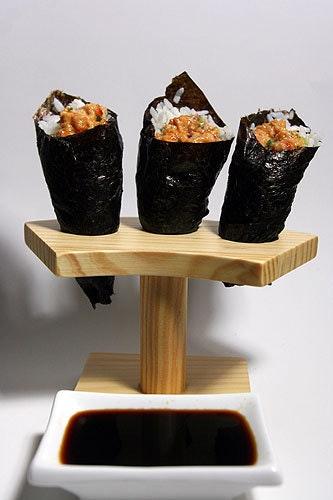 Cara Buat Sushi : sushi, Membuat, Sushi, Tangan
