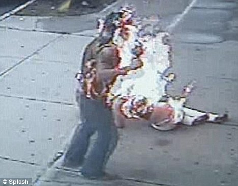 NEW YORK CRAZYShocking Images Shows Couple Engulfed In Flames As Jealous Lover Sets Boyfriend
