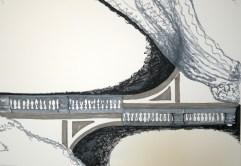 Bridges VIII, 2016, drawing