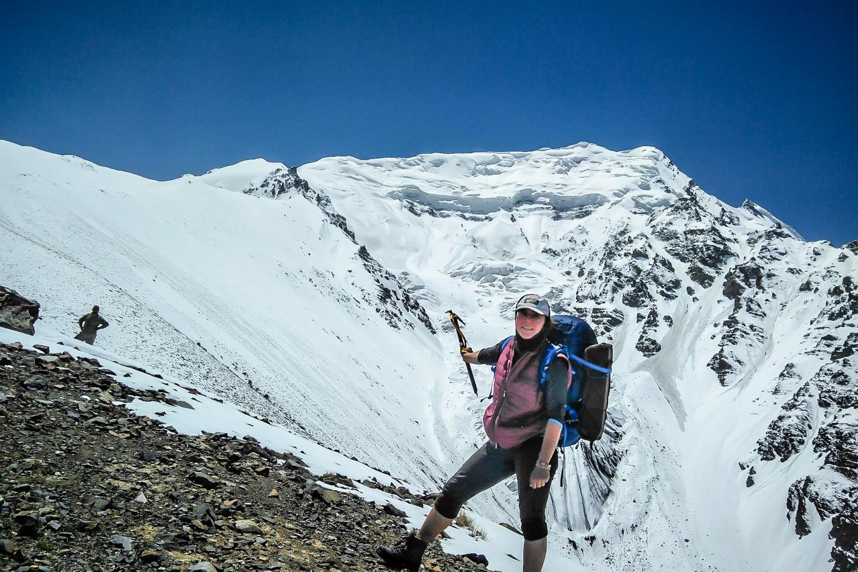 Yazgir Sar Base Camp trek, 4000 m