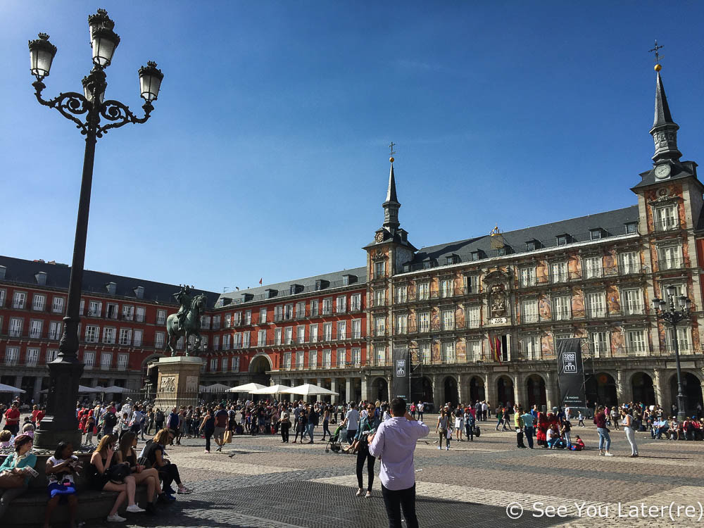 plaza mayor madrid espagne