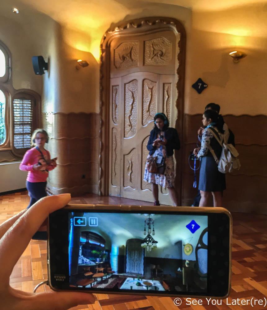 visite réalité augmentée casa batlló barcelone