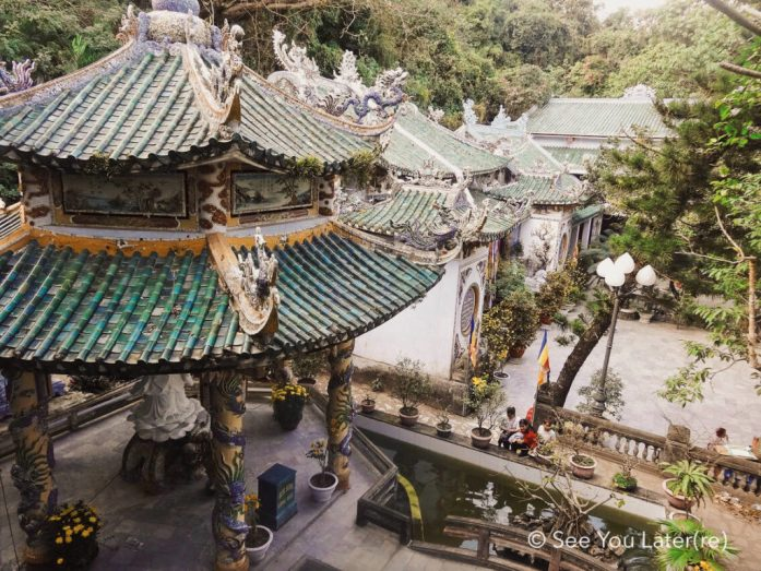 Temple Marble mountains