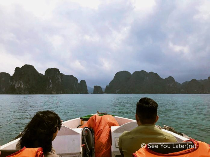 Speed boat baie halong