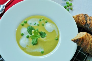 Zöldborsó leves Séfbabér