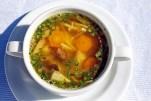 Zöldséges csirkeragu leves Séfbabér