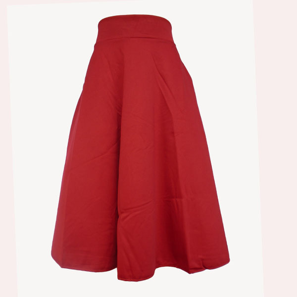 315381b6609 Women s fancy round skirts-Red. No ratings yet.