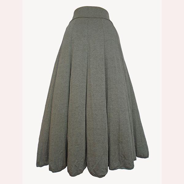 ae6fdf8f51e Women s long Caribbean skirt-Grey.
