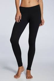 Women's cotton leggings-Black