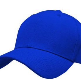 Baseball cap-Royal Blue.