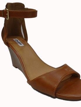 Women's classy wedge shoes-Brown.