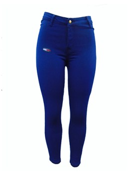 Women's denim jeans-Blue.