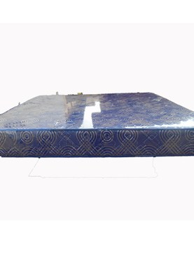 6 x 6/74*72*6 Rose Foam Mattresses-Navy Blue.