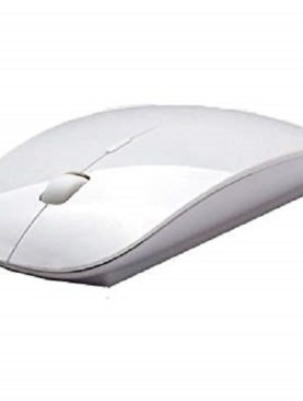 Wireless optical mouse-White.