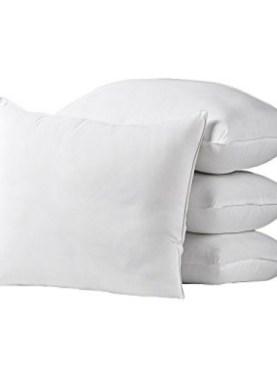 4 Pack hollow fiber pillows.