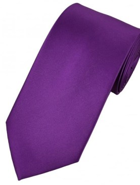 Men's classic tie-Purple.