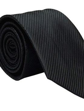 Men's classic tie-Black.