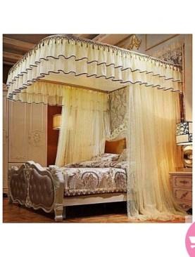 cream mosquito net-6x6