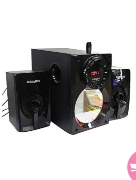 Global star sound system with Bluetooth-Black.