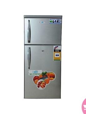 ADH 220 Liters Double Door Refrigerator - Silver