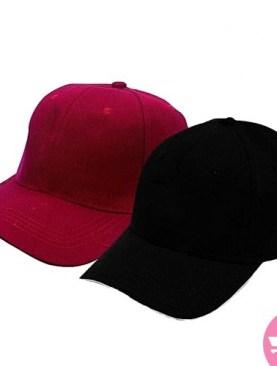 Original two Pack Caps - Black, Maroon.