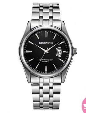 Classic analaog watch-Silver.