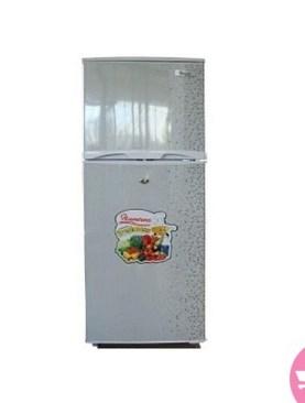 Ramtons 128 Liter double door fridge- White